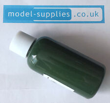 #25 Drab Green paint (semi matt polymer) 50ml bottle suitable for die casts