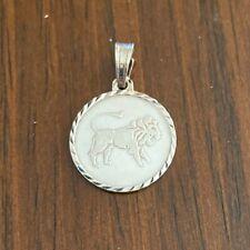 NEW Leo Sterling Silver Zodiac Pendant 925 Horoscope Charm S/S Solid Lion Roar