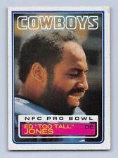 "1983  ED ""TOO TALL"" JONES - TOPPS Football Card - # 49 - DALLAS COWBOYS"