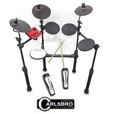 More details for carlsbro csd100 r electronic drum kit 7 piece digital set compact foldable