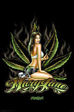 Mary Jane Alternative Lifestyle Large Poster 24x36 Pop Art Gd