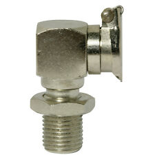 "R 1/8""  [1 Stück] Klappöler DIN 3410 C2 (90°) Stahl vernickelt"