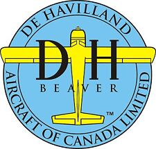 De Havilland Beaver Aircraft Decal/Sticker 10'' wide!