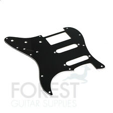 Fender Stratocaster Pickguard, Black 3 Ply (B/W/B) S/S/H