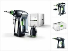 Festool C 18 Li-Basic Perceuse-visseuse sans fil + Coffret Systainer ( 574737 )