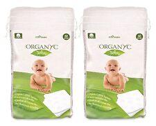 Organyc Baby Organic Cotton Squares 2x60pcs