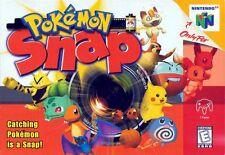 Nintendo 64 N64 Pokemon Snap Video Game Cartridge *Cosmetic Wear*