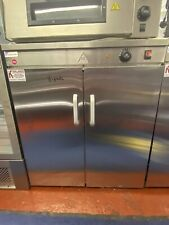 More details for double door hot cupboard with 3 shelves food warming cupboard plate warmer