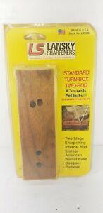 LANSKY Turn Box Sharpener 2-Ceramic Rods, 2 Position