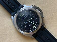 RARE Panerai PAM00310 PAM 310 Luminor Chronograph Automatic Watch w/ Box & Paper