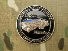 RARE!!   DIPLOMATIC SECURITY SERVICE ,US EMBASSY ,JERUSALEM , CHALLENGE COIN