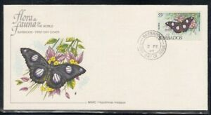 BARBADOS Mimic Butterfly FIRST DAY COVER