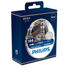 PHILIPS H4 +150% RACING VISION (PAIR) - GENUINE & GREAT VALUE!!!