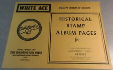 WHITEACE USR-5 HISTORICAL STAMP ALBUM PAGES STAMPS RELEASED 1964-68 W/FREE SHP.