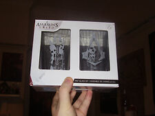 Gamer Block Assassins Creed Pint Glasses 2-Pack