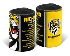 Richmond Tigers AFL TEAM SONG Beer Can Bottle Cooler Stubby Holder Xmas Gift