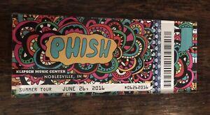 Phish MAGNET Deer Creek 6/26/2016 Noblesville IN Poster Print