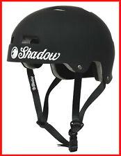 SHADOW CONSPIRACY CLASSIC HELMET ADULT SM / MD BMX BIKE PRO TEC MATTE BLACK NEW