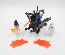 Lego Figuren Drache Zauberer Burgfräulein / Magd Gespenst Minifiguren Vintage