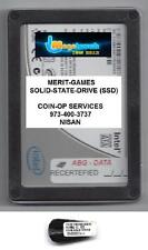 MERIT SOLID-STATE-DRIVE(SSD) ION 2012 (NO MOVING PARTS) SATA DRIVE+KEY MEGATOUCH