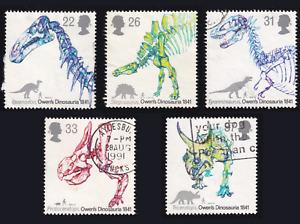 1991 Great Britain Dinosaur Set USED