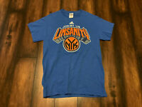 New York Knicks NBA Linsanity Basketball Men's Short Sleeve Graphic T-shirt Sz S