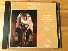 L. Doerr spielt an den 4 Orgeln des Freiburger Münsters. 1 CD