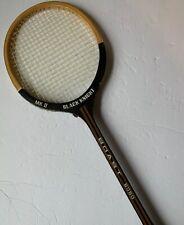 Vintage Black Knight Squash Racquet Wood MK II BOAST 6060 4L Racket Badminton