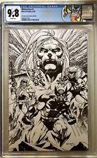 Wolverine #1 CGC 9.8 Marvel 2020. Scott Williams B & W Var Lmtd to 400 Copies.