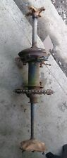 1981 1982 Honda Atc185s Complete Rear End Back Differential Gearbox Axle Drum