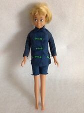 "Vintage 1963 Blonde Hair Straight Leg Skipper Mattel Barbie Japan 9"" #3"