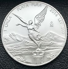 2014 Mexican Libertad 1 oz .999 Silver Coin Low Mintage Key Date (5925-1)