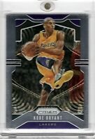 2019-20 Panini Prizm Kobe Bryant #8 Base Los Angeles Lakers Hall of Famer MAMBA