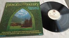 'PEACE IN THE VALLEY VINY LP RONCO RTL 2043  Marvin Gaye, Johnny Cash + others