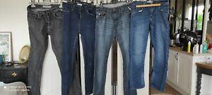 Lot de 4 jeans T 40