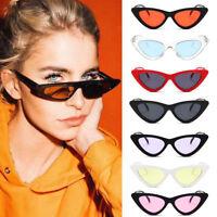 2018 Fashion Vintage Retro Cat Eye Triangle Sunglasses UV400 Eyewear Sun Glasses