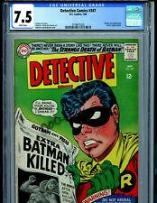 Detective Comics #347 CGC 7.5 Batman DC Comics 1965 Amricons K7