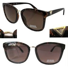 db3739ccde3 GUESS 100% UV Protection Designer Brown Sunglasses for Women