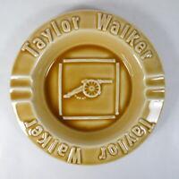 G578 PORTACENERE POSACENERE INGLESE IN CERAMICA PUB TAYLOR WALKER VINTAGE 17 cm
