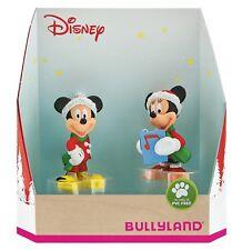 Disney Mickey Minnie Mouse Weihnachten Bullyland Geschenkset Sammelfiguren 15074