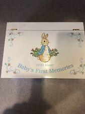 Peter Rabbit Baby's First Memories Box Keepsakes