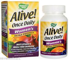 Alive Once Daily Women's Ultra Potency Multivitamins 60 tablets | Nature's Way