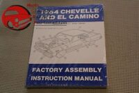 64 Chevelle & El Camino Factory Assembly Manual New FREE SHIPPING