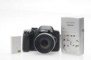 Nikon Coolpix P520 18.1MP Digital Camera w/42x Zoom #860