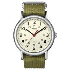 Timex Originals T2N651 Mens Natural Olive Weekender Slip Through Watch £54.99
