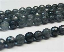 6mm Faceted T Gray Tourmaline Round Loose Beads 15'' AAA