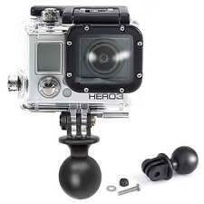 "Ram Mount RAM-RAP-B-202-GOP1 1"" Diameter Ball with Custom GO Pro Hero Adapter"