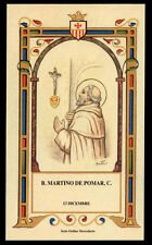 santino-holy card B.MARTINO DE POMAR  mercedario