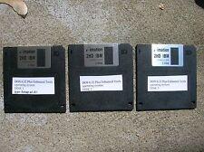 "Microsoft DOS 6.22  - Full Version    On  three 3.5"" Floppy Disks"