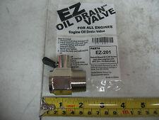 Detroit Diesel Series 60 & 50 EZ Oil Drain Valve # EZ-201 Thread Size NPT 3/4-14